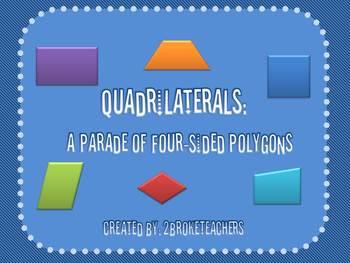 Geometry Quadrilaterals Mini-Lesson PowerPoint