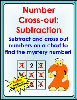 Number Cross-out: Subtraction