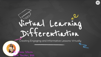 Virtual Learning Differentiation