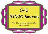 0-10 Bingo