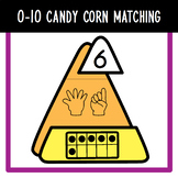 0-10 Candy Corn Counting and Matching Set