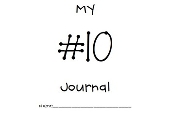 0-10 Common Core Number Journals