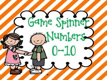 0-10 Game Spinner