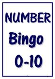 0-10 NUMBER BINGO
