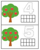 0-10 Number Cards