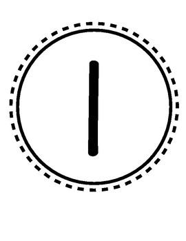 0-10 Number Circles
