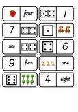 0-10 Number Dominoes