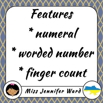 0-10 Number Match-Up in Ukrainian