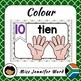 0-10 Number Posters in Afrikaans BUNDLE