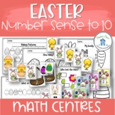 0-10 Number Sense Easter Theme