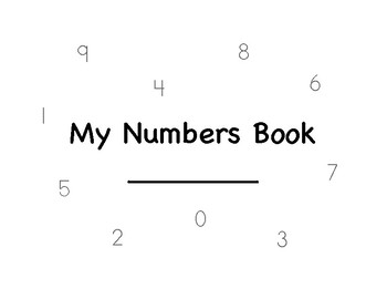0-10 Numbers Book