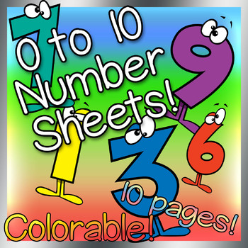 0-10 Worksheets