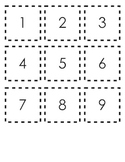 0 - 100 Number Cards