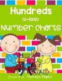Hundreds Number Charts (0-1000)