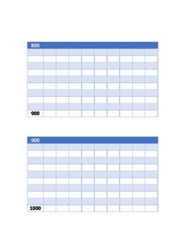 0-1.000 Tableaux de vérifications et tableaux à remplir