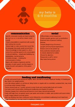 0-12 Months Developmental Expectation Checklist - Speech Pathology