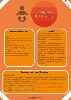 0-12 Months Developmental Expectation Checklist - Speech P