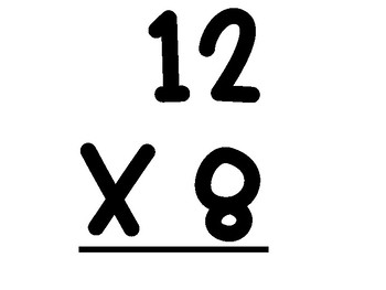 0-12 Multiplication Math Facts Practice