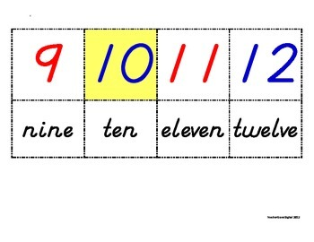 0-120 Full Classroom Size Number Line