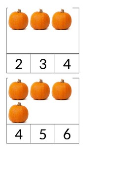 0-15 pumpkin count and clip