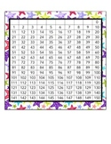 0-150 number chart