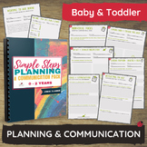 0-2 Years Plan/Reflect/Obs Templates for Baby & Toddler Pr