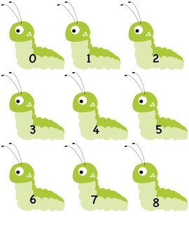 0-20 Caterpillar Ordering Freebie