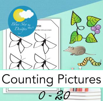 0 - 20 Count and Circle #FinallyFall