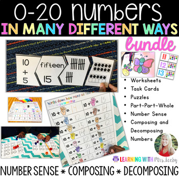 0-20 In Many Different Ways {BUNDLE}