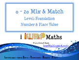 0 - 20 Mix and Match Cards