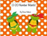 0-20 Number Match! Ninja Turtle Theme!