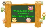 0-20 Number Matching Game - Wise Little Owls - Match 3 Ways