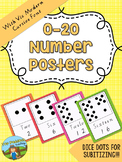 0-20 Number Posters