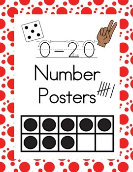 0- 20 Number Posters