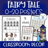 Numbers 0 to 20 Posters Fairy Tale Theme
