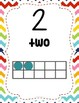 0-20 Number Posters with Ten Frames