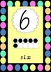 0-20 Number Posters with tens frames - Vic Modern Cursive font.