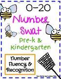 0-20 Number Swat for Pre-K & Kindergarten