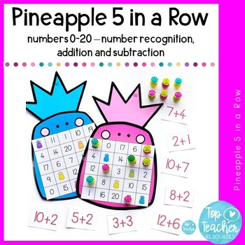 0-20 Pineapple 5 in a Row