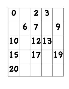 0-20 Practice