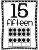 0-20 Printable Number Wall with tens frames