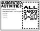 0-20 Ten-Frames Match Cards