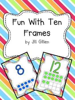 0-20 Ten Frames posters