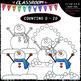 (0-20) Winter Counting - Clip Art & B&W Bundle 1 (4 Sets)