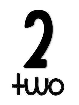 0-20 number line with 10-Frames {FREEBIE}