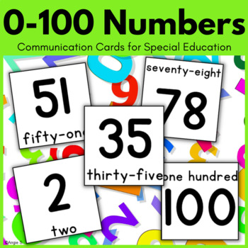 0-30 Numbers Cards, Autism Visuals