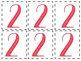 0-9 Number Cards: Decorative Numbers