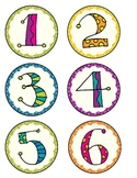 0-9 Number Cards for Labeling