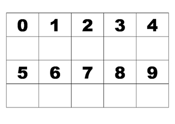 0 - 9 Number matching