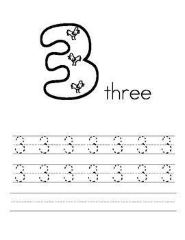 0-9 handwriting